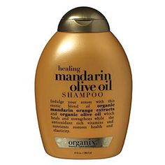 Dry, damaged hair tips:  Repair with protein. When hair becomes parched, the solution is not simply to add water. Use shampoos that are fueled with moisturizing lipids, such as olive oil, and other proteins that replenish lost moisture and strengthen damaged areas. Try Organix Healing Mandarin Olive Oil shampoo