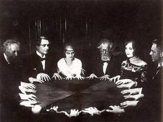 SkullsSociety.com  #SkullsSociety #seance #photo #occult #haunted #victorian #spirits #ghosts #mystic #photography #themysticmuseum #blackandwhite #ritual #witch #wicca #magic #witchcraft #ceremony #spiritual #ghost #goth #esoteric #dark #gothic #darkart #occultism #witchy #supernatural #paranormal