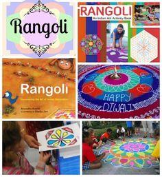 What is a Rangoli: Floor Folk Art from India for Diwali Kids Around The World, India Art, Middle School Art, Art School, Art Activities, Multicultural Activities, Toddler Activities, World Cultures, Arts Ed, Culture, Activities For Children, School Of Arts, High School Art