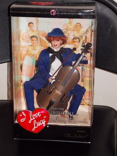 """I Love Lucy """"The Audition"""" doll"""