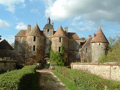 Château de Ratilly (Yonne - Bourgogne)