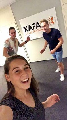 De ervaringen van Xafax stagiaires Laura, Steyn en Arne !