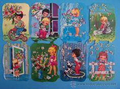 ...•:*¨.*:•...LAMINA DE CROMOS TROQUELADOS KRUGER 98/104 CON BRILLANTINA . ....•:*¨.*:•... Free Prints, Vintage Toys, Paper Dolls, Childhood Memories, Decoupage, Nostalgia, Nye, Paper Scraps, Teddy Bear