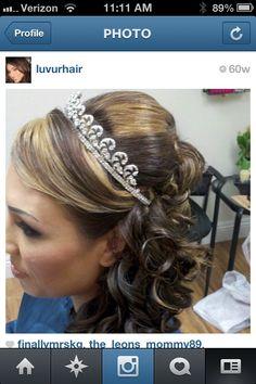 "Wedding UpDo. Bride. Makeup. Smokey eye. Follow me on Instagram ""LUVURHAIR"""