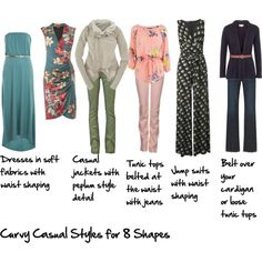 Casual Looks for the Curvy Body