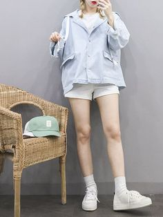 Korean Girl Fashion, Korean Fashion Trends, Korean Street Fashion, Ulzzang Fashion, Korea Fashion, Asian Fashion, Dope Outfits, Outfits For Teens, Girl Outfits