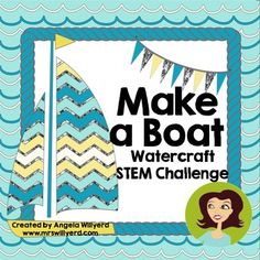 The Make a Boat STEM Watercraft Challenge is a 4-day engineering and design exercise that will get your students thinking before or after a long break, back to school time, or for those days before the end of the school year.  Plus, this activity incorporates critical thinking, collaboration, drawing, and measurement in addition to scientific engineering skills!