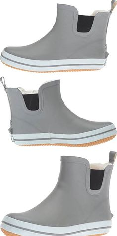 Kamik Womens Shellylo Rain Boot - I love, love, love these boots!  They are perfect for going around town in the rainy Pacific Northwest!  The only disappointment is that they are a little slippery sometimes on rain covered concrete/asphalt.  Wish they had more traction on the soles. #Shoes
