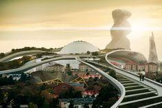 Cities in 2029 - Deus Ex Concept Art | #122 - Escape The Level