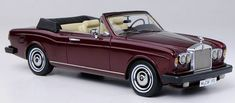 #transformer wonderful modelcar rolls royce corniche convertible lhd 1977 - darkred - 143