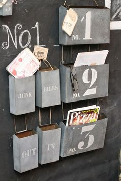 DIY Message Center Projects | Decorating Your Small Space