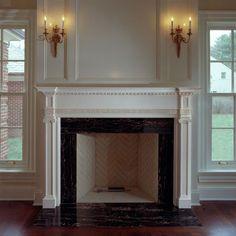 Metal Fireplace Surround Ideas | Fireplace | Pinterest | Fireplace ...