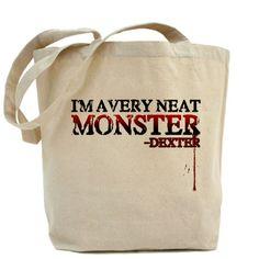 Dexter Tote Bag. Care for the environment! :) http://dextermorganstore.com/dexter-tote-bag/