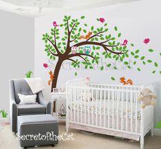 UfingoDecor Muro Farfalle Vite Creativo Fiore Foto Adesivi Murali ...