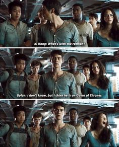 The Scorch Trials - Gag Reel