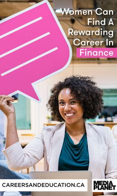 Only one in three young women aged 16 to 20 would consider a career in the field of finance. It's time that we speak about the finance industry as a place for everyone to participate.