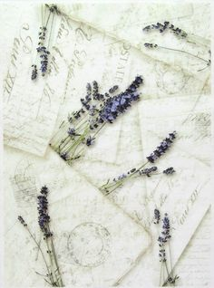 Rice Paper for Decoupage, Scrapbook Sheet, Craft Paper Lavender's Letters | eBay
