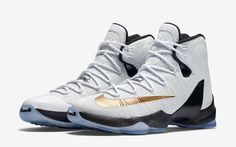 wholesale dealer 42d49 fff37 Nike LeBron 13 Elite Gold White Release Date