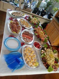 Koud en warm buffet
