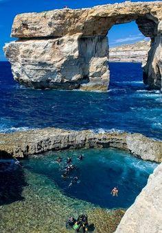 Azure-Window.. Gozo, Malta