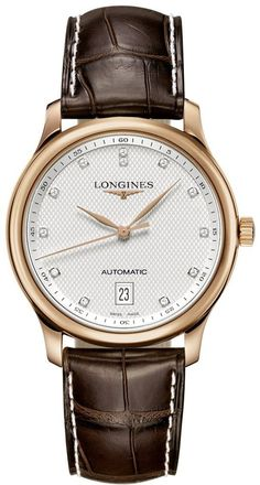 @longineswatches Master Collection #add-content #bezel-fixed #bracelet-strap-alligator #brand-longines #case-material-rose-gold #case-width-38-5mm #date-yes #delivery-timescale-1-2-weeks #dial-colour-silver #gender-ladies #l26288773 #luxury #movement-automatic #official-stockist-for-longines-watches #packaging-longines-watch-packaging #style-dress #subcat-master-collection #supplier-model-no-l2-628-8-77-3 #warranty-longines-official-2-year-guarantee #water-resistant-30m