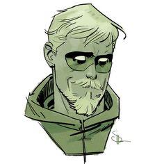 "Green Arrow by Evan ""Doc,"" Shaner"