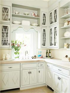 cottage kitchen ideas home decorating ideas from Country Kitchen Cabinet Hardware