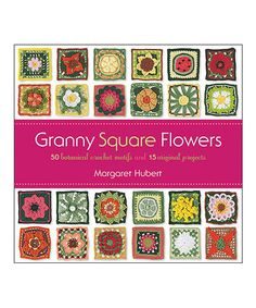Granny Square Flowers Book #zulily #zulilyfinds