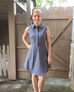McCall's 7380 shirtdress by @soisewedthis
