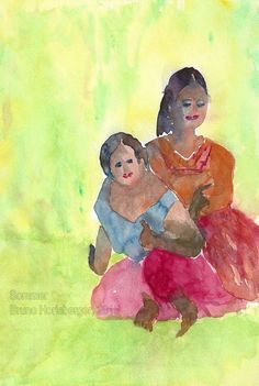 Sommer / Summertime / Verano / Été / 暑期 (PAUL GAUGUIN) Paul Gauguin, Summertime, Painting, Watercolor Painting, Summer Time, Water Colors, Painting Art, Paintings, Painted Canvas