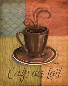 Quattro Coffee II-mini by Paul Brent art print