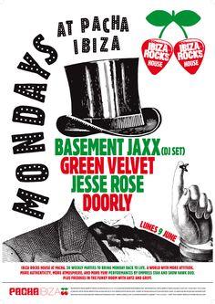 Poster for Ibiza Rocks House at Pacha