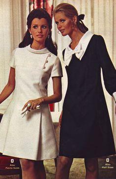 https://flic.kr/p/fRQpox | Wards 69 fw white black dresses