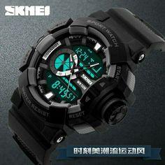 Fashion Watch Men G Style Waterproof LED Sports Military Watches Shock Men s  Analog Quartz Digital Watch relogio masculino SKMEI. Kaka Hindarto · Jam  tangan ... 0b21cf4af6