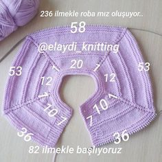 Discover thousands of images about Garter Yoke Baby Cardigan free Knitting Pattern Baby Knitting Patterns, Knitting For Kids, Easy Knitting, Crochet For Kids, Knitting Stitches, Knitting Projects, Knit Crochet, Crochet Skirts, Blanket Patterns