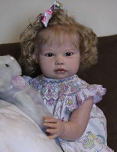 Reborn baby Ella Mae by Janie De Lange toddler girl