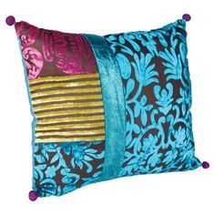 I pinned this from the Whimsy & Wanderlust - Bohemian Totes, Pillows, Poufs & More event at Joss and Main!
