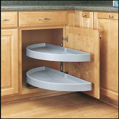 Blind Corner Cabinet Organizer - WoodWorking Projects & Plans