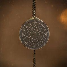 Goetia Seventh Pentacle of Mars Solomon kabbalah amulet