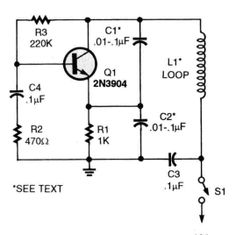 Image result for 1 km metal detector circuit diagram