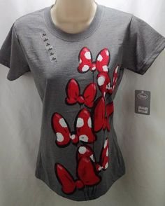 NEW Disney Minnie Mouse Classic Tee for Women T-Shirt Ladies Size XS #Disney #GraphicTee