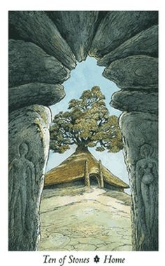 Ten of Stones - Wildwood Tarot (home)