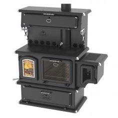 Cuisinez et réchauffez-vous de façon écoresponsable avec cette cuisinière au bois testée et certifiée EPA.