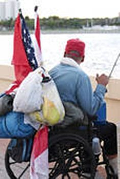 Being a veteran myself, I have real concerns over homeless vets.