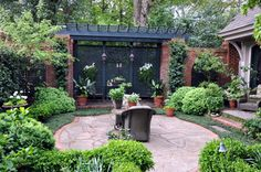 Crescent Ave. Urban Oasis - traditional - patio - other metro - by The Collins Group/JDP Design