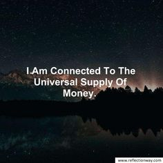 money affirmations law of attraction # Wealth Affirmations, Positive Affirmations, Healing Affirmations, Positive Thoughts, Positive Vibes, Manifestation Meditation, How To Manifest, Dream Life, Law Of Attraction