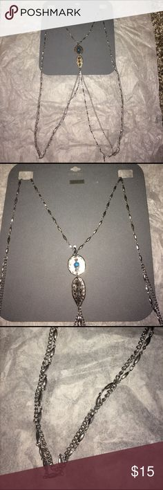 EXPRESS Body Chain NWT! Silver Body Chain, never used or tried on.  Will never wear. Express Accessories