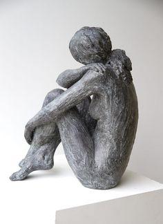Tender is the night - Art Center Horus Human Sculpture, Sculpture Clay, Ceramic Sculpture Figurative, Tender Is The Night, Pottery Sculpture, Clay Figures, Clay Art, Statues, Art Dolls