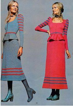Early 70s midi skirt