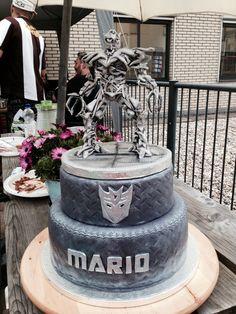 Transformers Decepticon Megatron cake
